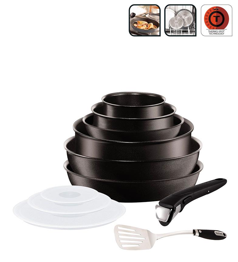 Comprar Tefal Set 11 piezas Serie Ingenio Expertise -Compatible con todo tipo de cocinas incluida la cocina de inducción-