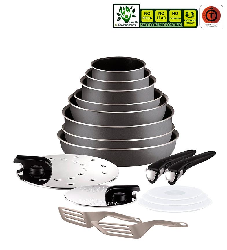 Comprar Tefal Setembro 17 peças Ingenio Essential Series Compatível com todos os tipos de fogões, exceto indução-cooking