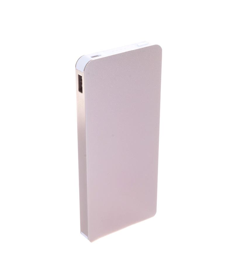 Comprar Tekkiwear by DAM Batería dorado 10400mAh doble salida USB con linterna LED -4,4x2,6x10cm-