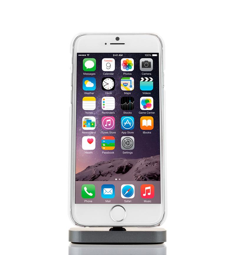 Comprar Tekkiwear by DAM Caricatore iphone base 5, SE, 6, 6S, 6P, 7, 7P argento speciale