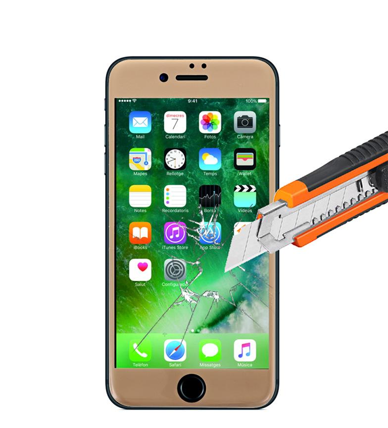 Comprar Tekkiwear by DAM Thermo-trempé de protection Iphone 7 7 plus écran or Iphone