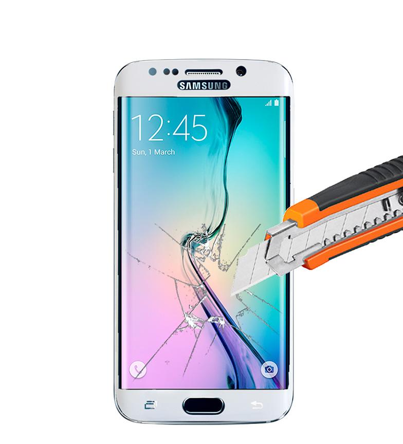 Comprar Tekkiwear by DAM Protector termo-templado Samsung S6 - EDGE blanco