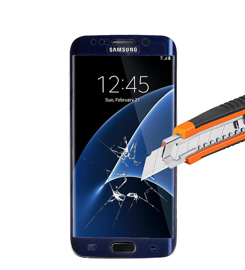 Comprar Tekkiwear by DAM Protector termo-templado Samsung S6 - EDGE marino