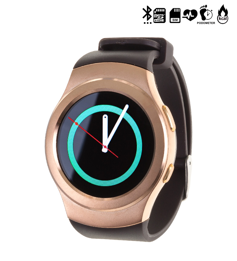 Comprar Tekkiwear by DAM Horloge avec Bluetooth compatible Android et iOS G3 SIM CARD or