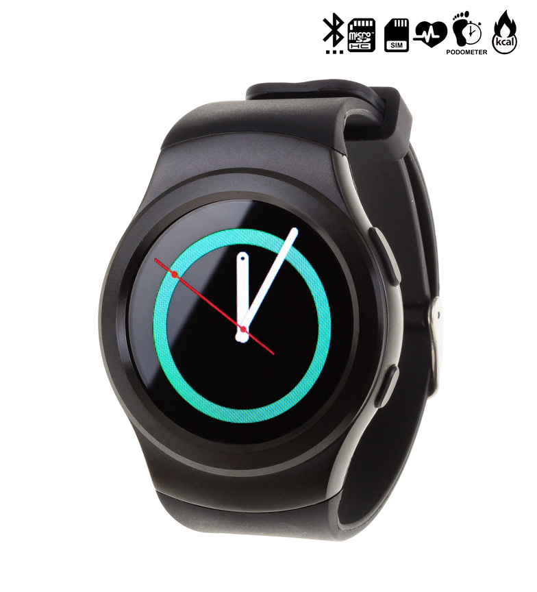 Comprar Tekkiwear by DAM Watch with bluetooth compatible with Android and iOS G3 SIM CARD black