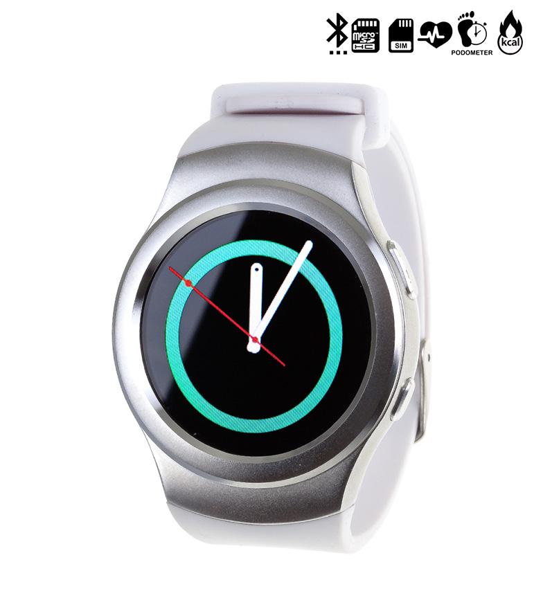 Comprar Tekkiwear by DAM Horloge avec compatible Bluetooth Android et iOS G3 Argent CARTE SIM