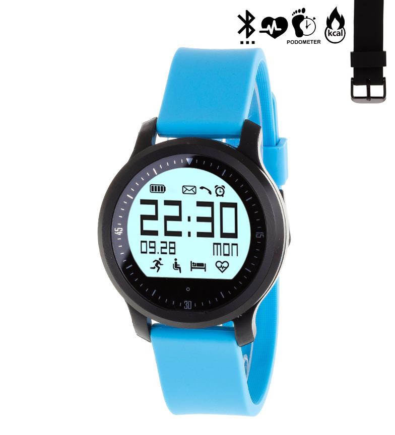 Comprar Tekkiwear by DAM Intelligent sports watch with bluetooth 4.0 with 2 straps interchangeable F68 Sport blue