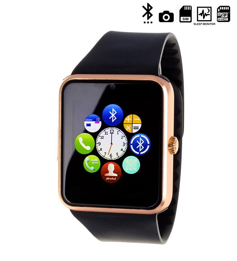 Comprar Tekkiwear by DAM Horloge numérique avec bluetooth GT08 noir, or