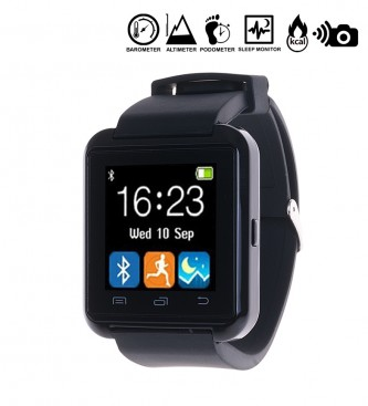 Comprar Tekkiwear by DAM Multifunction digital watch with bluetooth and hands-free Universal black