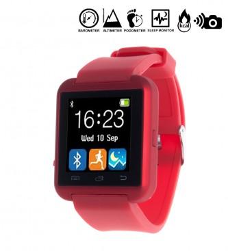 Comprar Tekkiwear by DAM Orologio digitale multifunzione con Bluetooth e rosso universale viva voce