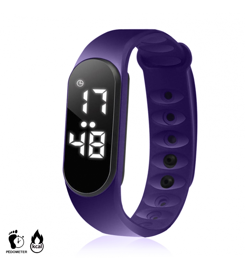 Comprar Tekkiwear by DAM CD2 sports bracelet with high precision pedometer, with distance and calories burned
