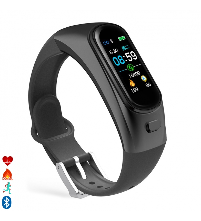 Comprar Tekkiwear by DAM AK-H9 smart bracelet with handsfree with built-in headset, health monitor and notifications
