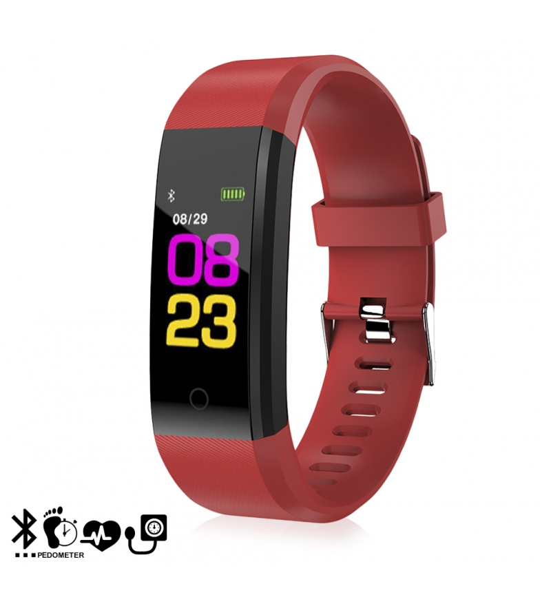Comprar Tekkiwear by DAM ID115 red smart bracelet -iOS 8.0 and above// Android 4.3 and above