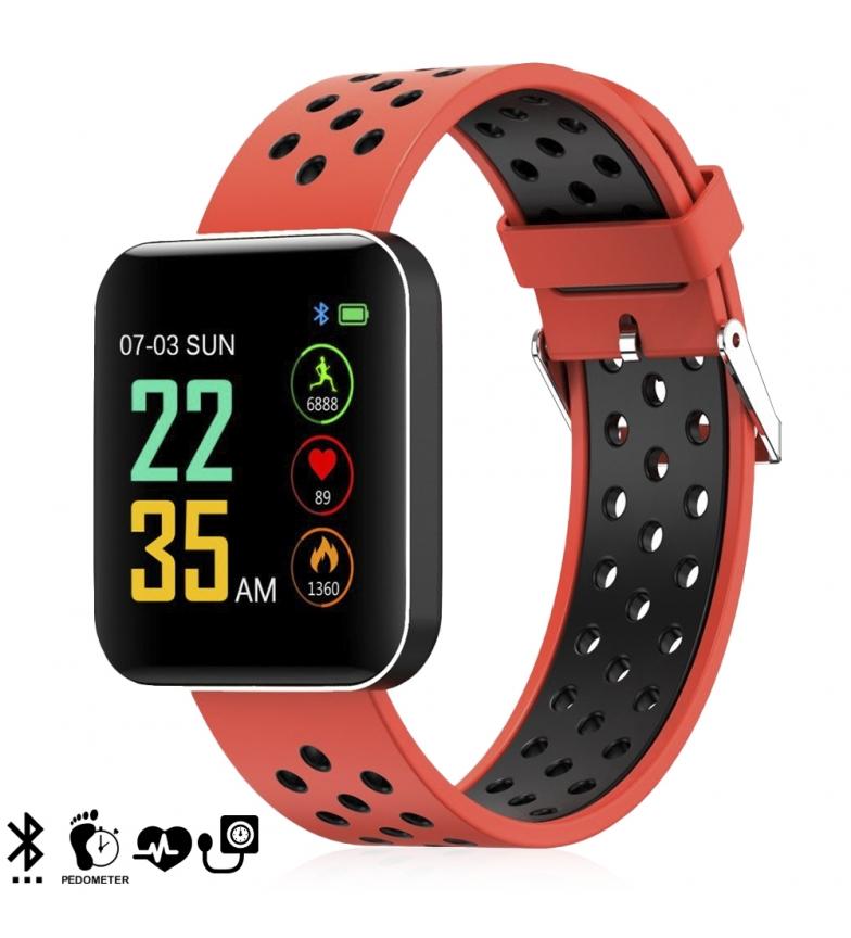 Comprar Tekkiwear by DAM Pulseira Smart S88 com visor de alta resolução, monitor de pressão arterial e notificações
