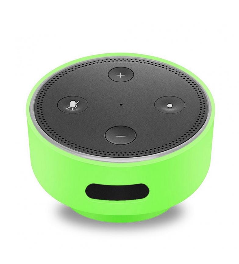 Comprar Tekkiwear by DAM Carcasa de silicona para Amazon Echo Dot (Gen 2) con ventosa