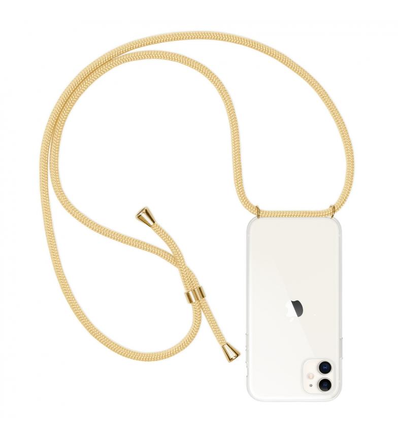 Comprar Tekkiwear by DAM Custodia trasparente per iPhone 11 con pendente in nylon. Accessorio di moda, perfetta vestibilità e massima protezione