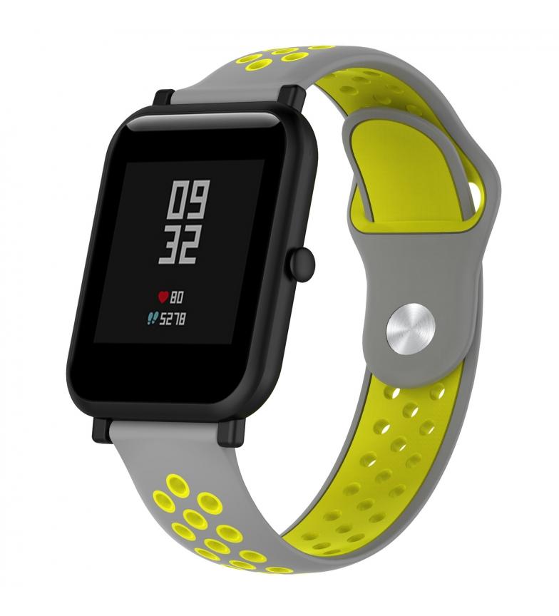 Comprar Tekkiwear by DAM Correa deportiva universal de silicona para relojes de 20mm. Sistema Quick Release de fácil cambio.