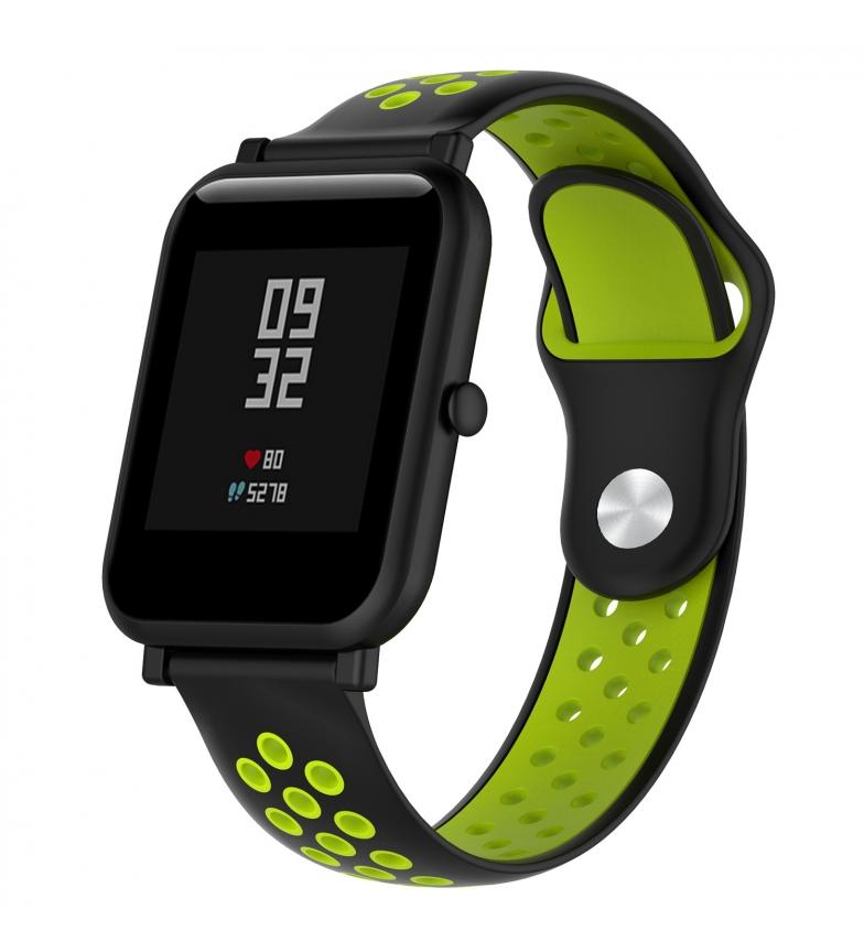 Comprar Tekkiwear by DAM Cinturino sportivo in silicone universale per orologi da 22 mm Sistema di sgancio rapido di facile sostituzione.