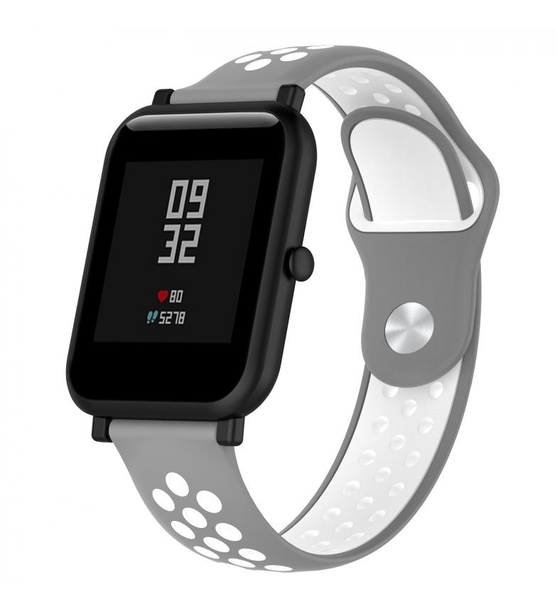 Comprar Tekkiwear by DAM Bracelet sport universel en silicone pour montres 22mm, système de fixation rapide pour un changement facile.
