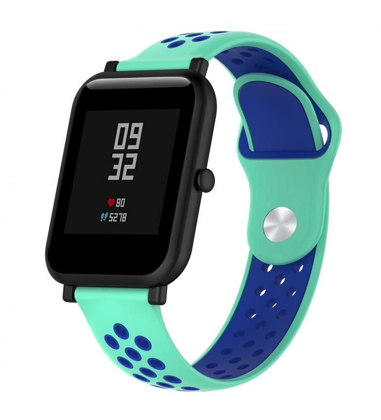 Comprar Tekkiwear by DAM Bracelete desportiva universal de silicone para relógios de 22 mm. Sistema de libertação rápida para uma mudança fácil.