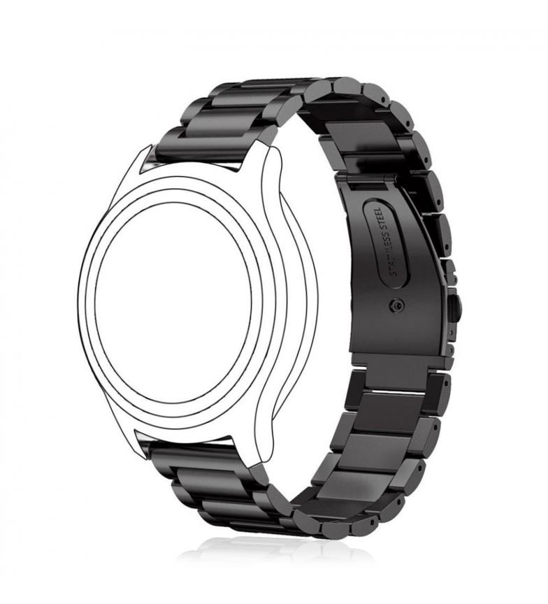 Comprar Tekkiwear by DAM Bracelet universel en acier inoxydable pour montres de 20 mm. système de fixation rapide pour un changement facile.