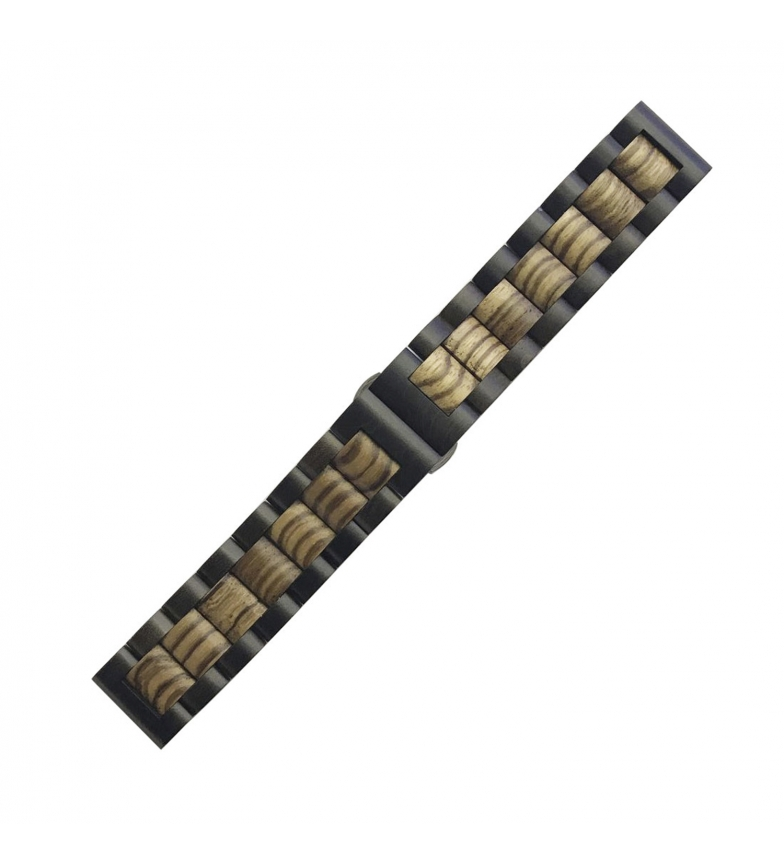 Comprar Tekkiwear by DAM Correa universal de madera natural bambú para relojes de 22mm.Sistema Quick Release de fácil cambio.