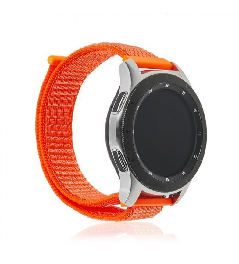 Comprar Tekkiwear by DAM Bracelet universel en nylon pour montres 20mm. Système de fixation rapide facile à changer.