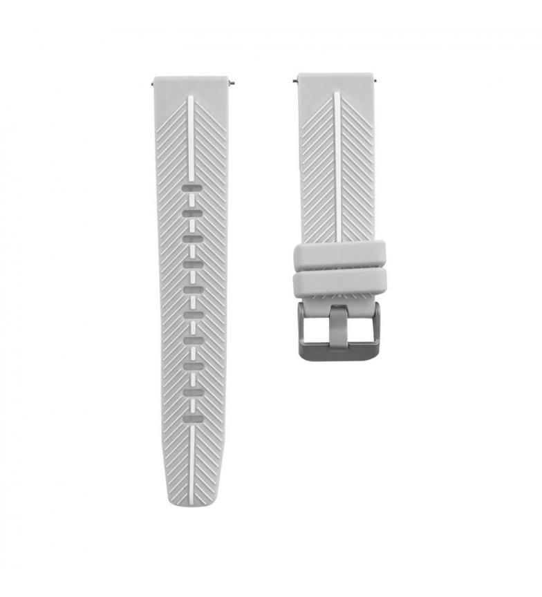 Comprar Tekkiwear by DAM Bracelete de silicone cirúrgica universal para relógios de 22 mm. Sistema de libertação rápida para uma mudança fácil.