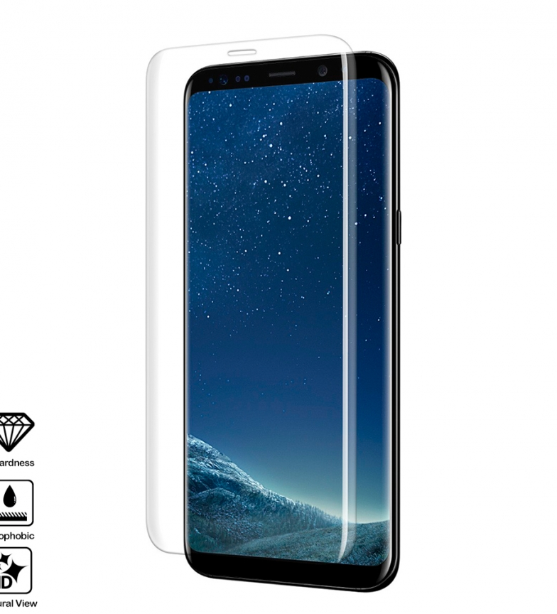 Comprar Tekkiwear by DAM 4D Curved Full Screen Tempered Glass Protector for Samsung S8