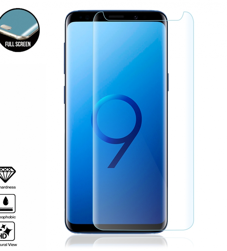 Comprar Tekkiwear by DAM 4D Curved Full Screen Tempered Glass Protector for Samsung S9 Plus