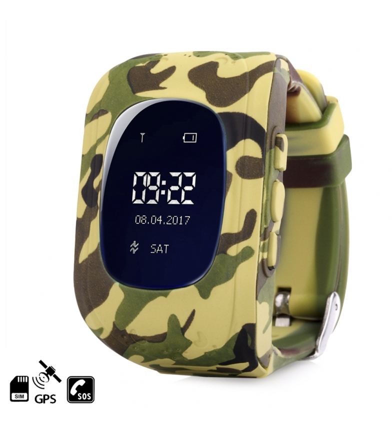 Comprar Tekkiwear by DAM Smartwatch GPS Q50 special for children, with tracking function, SOS calls and call reception