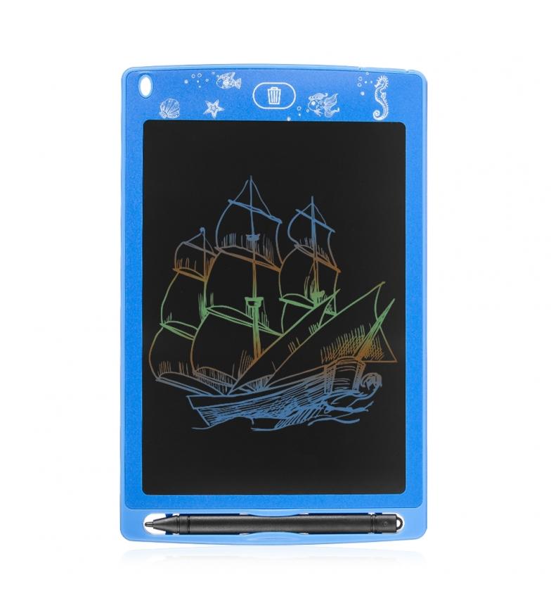 Comprar Tekkiwear by DAM Tableta LCD portátil de dibujo y escritura con fondo multicolor de 8,5 pulgadas azul