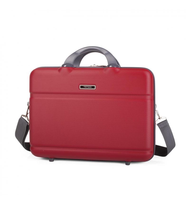 Comprar Tempo Tempo Wall Street portadocumenti rosso -29x39,5x6,5x6,5 cm-