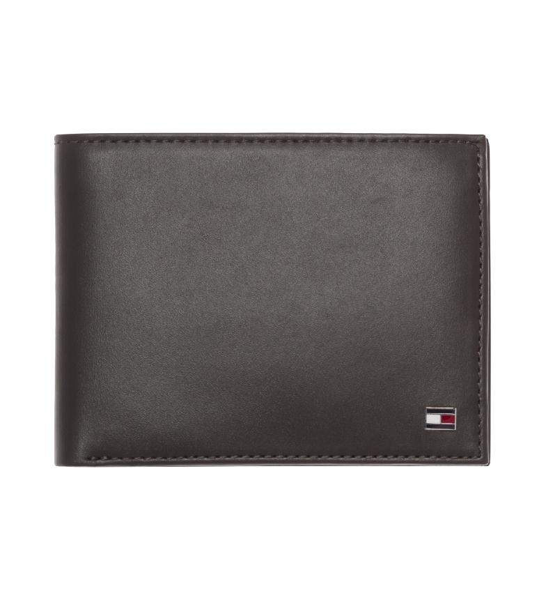 Tommy Hilfiger Carteira Eton CC Moeda de bolso castanha -13x2x9,5cm