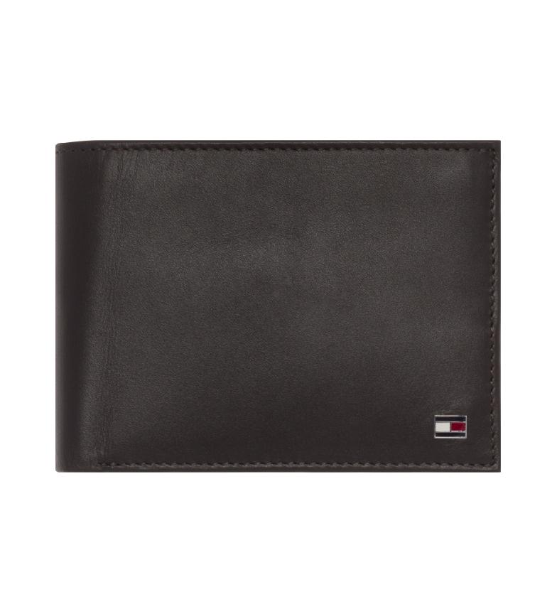Comprar Tommy Hilfiger Portafoglio marrone Eton CC Flap Coin Pocket -13x9,5x3cm-