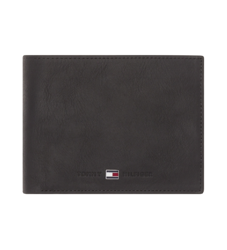 Comprar Tommy Hilfiger Cartera Johnson CC Coin Pocket negro -13x2x9,5cm-