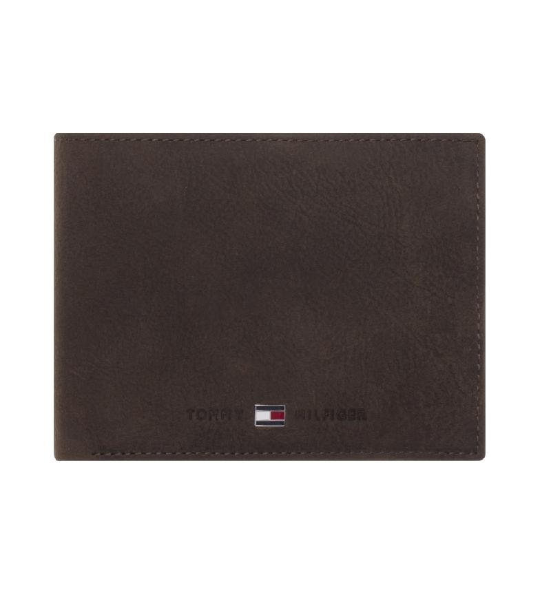 Comprar Tommy Hilfiger Portefeuille de poche CC Johnson brun -13x2x9,5cm
