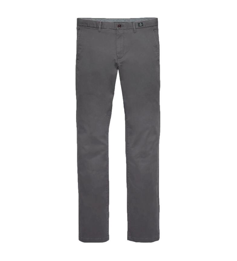 Tommy Hilfiger Pantalón Chino Core Denton Straight gris