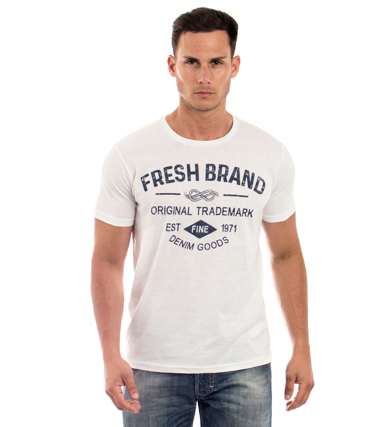 Comprar The Fresh Brand T-shirt Est blanc