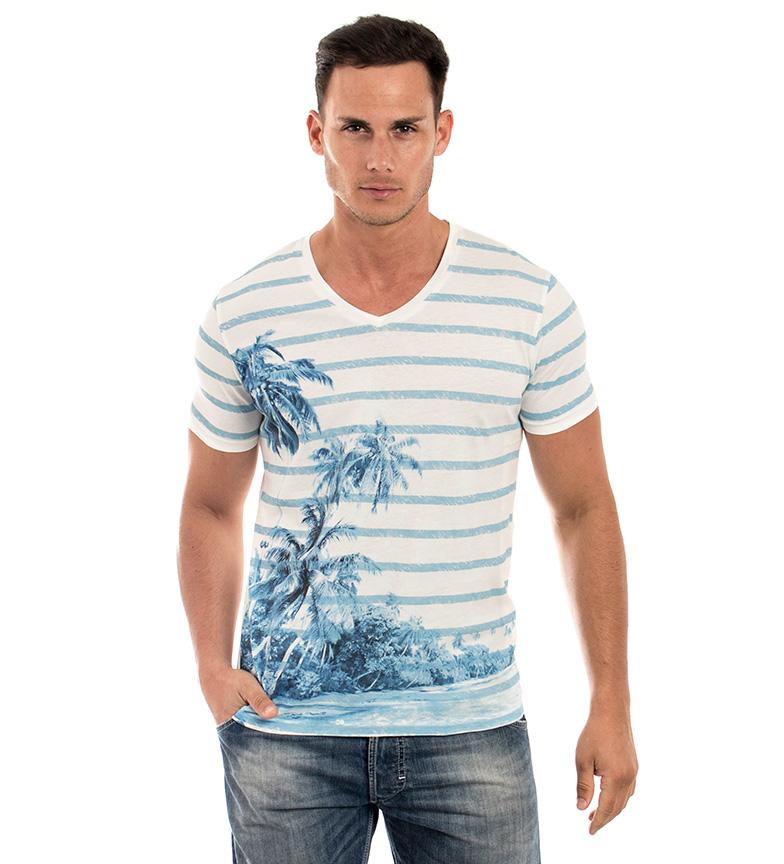 Comprar The Fresh Brand T-shirt en lin blanc