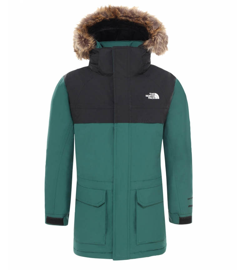 Comprar The North Face Parka McMurdo verde / DryVent