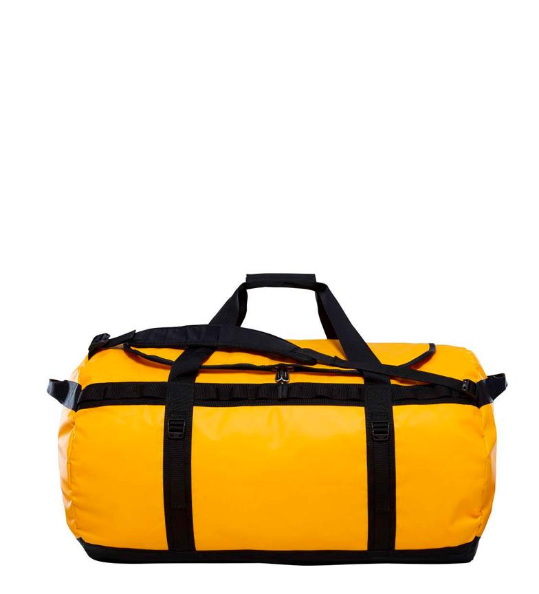 bolsa north face amarilla