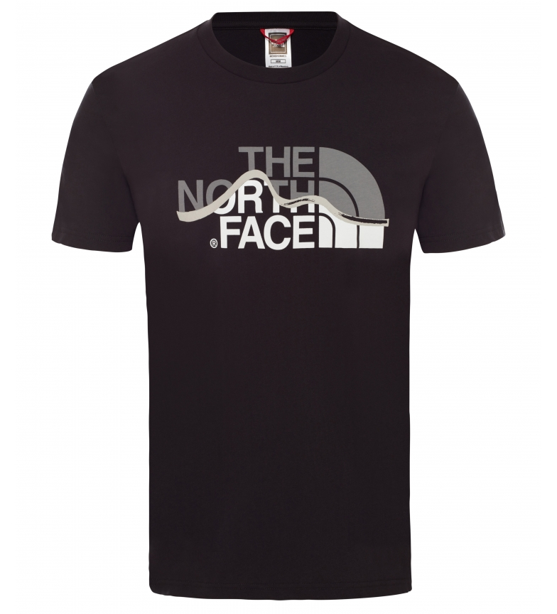 Comprar The North Face T-shirt Mountain Line black