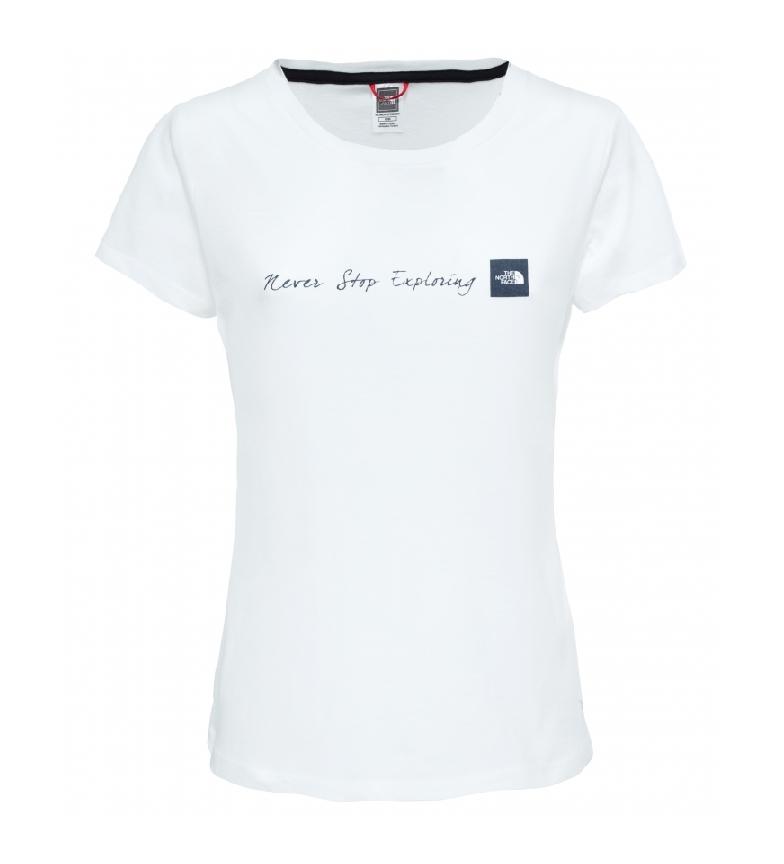 Comprar The North Face Camiseta Never Stop Exploring blanco