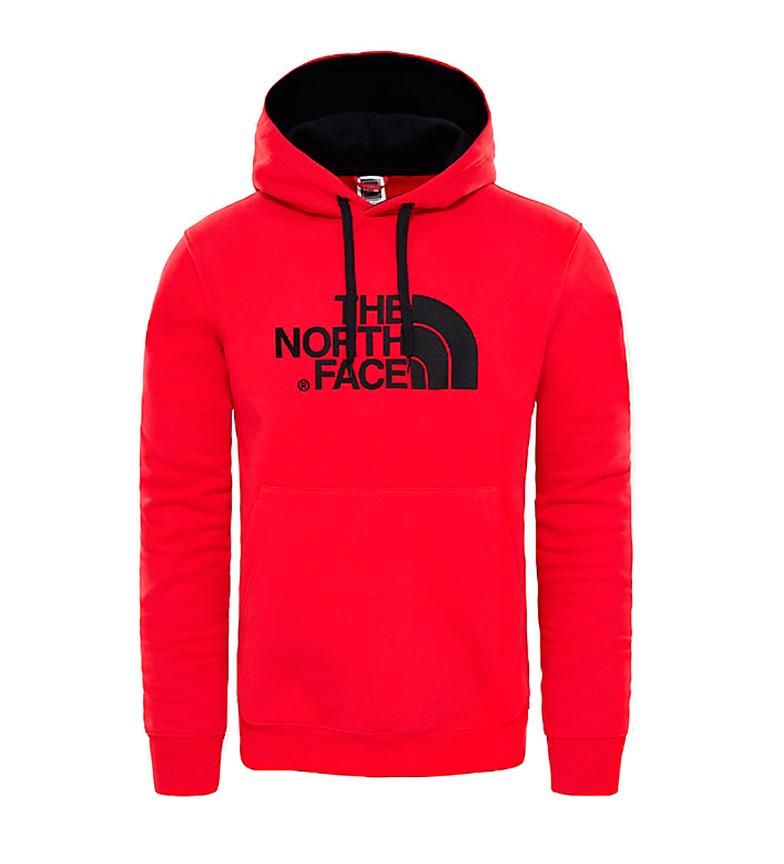 Comprar The North Face Drew Peak camisola de algodão vermelho