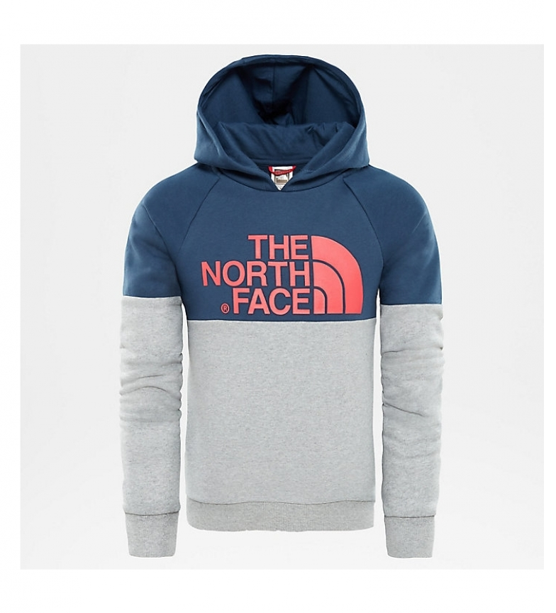 Comprar The North Face Sudadera Drew Peak gris, azul