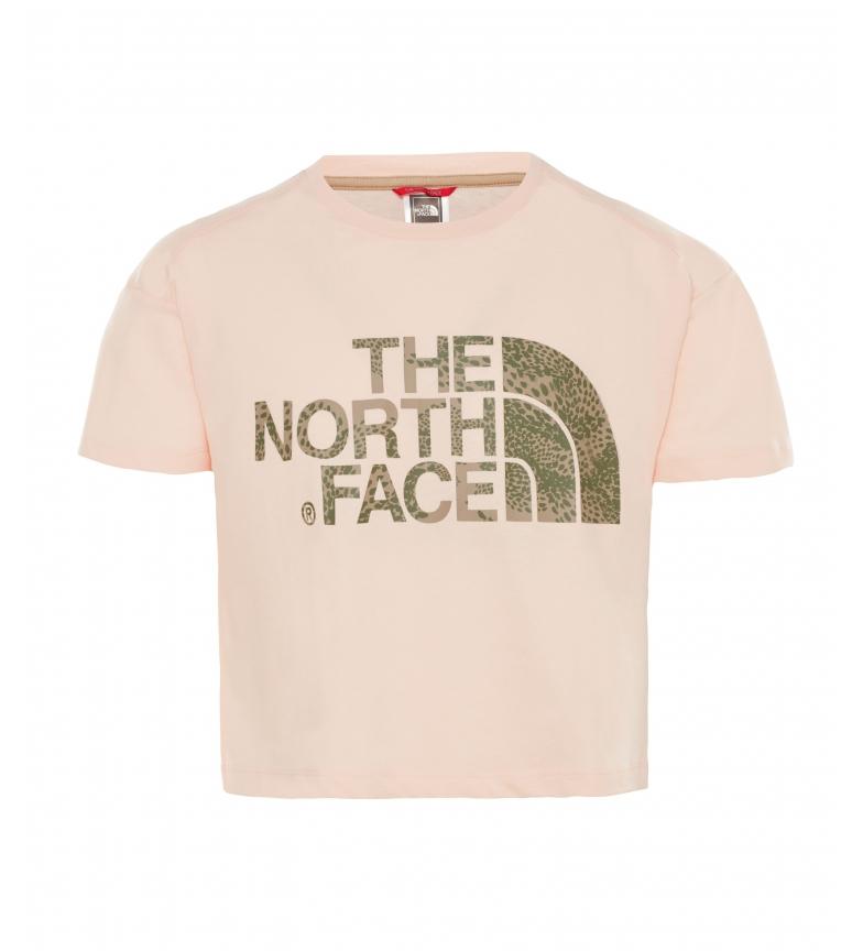 Comprar The North Face Camiseta Corta  rosa pálido