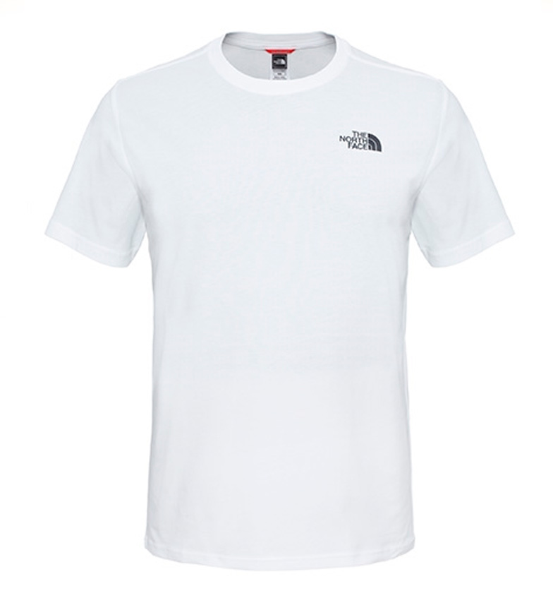 Comprar The North Face Camiseta de algodón Redbox Tee blanco