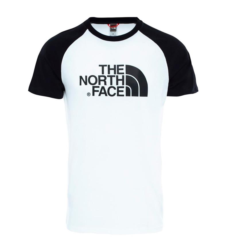 Comprar The North Face T-shirt fácil branco do Raglan