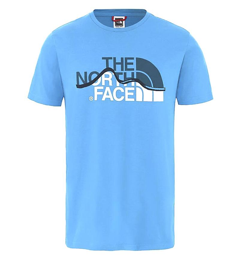Comprar The North Face Camiseta Mount Line azul